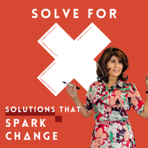 Solve for X podcast cover artwork